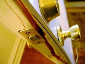 Broken door jamb-Tim Samoff